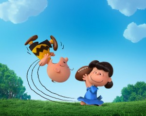 Charlie Brown and Lucy in THE PEANUTS MOVE. ©20th Century Fox / Peanuts Worldwide LLC.
