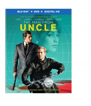 THE MAN FROM U.N.C.L.E (DVD Artwork) ©Warner Bros. Entertainment.