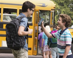 "Disney Channel's Joey Bragg (""Liv and Maddie"") and ABC's Sean Giambrone (""The Goldbergs"") star in the comedic adventure MARK & RUSSELL'S WILD RIDE. ©MarVista Entertainment/David Bukach)"
