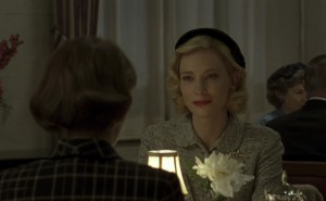 (L-R) ROONEY MARA and CATE BLANCHETT star in CAROL. ©The Weinstein Company.