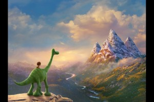 The journey of two friends in THE GOOD DINOSAUR. ©Disney/Pixar.