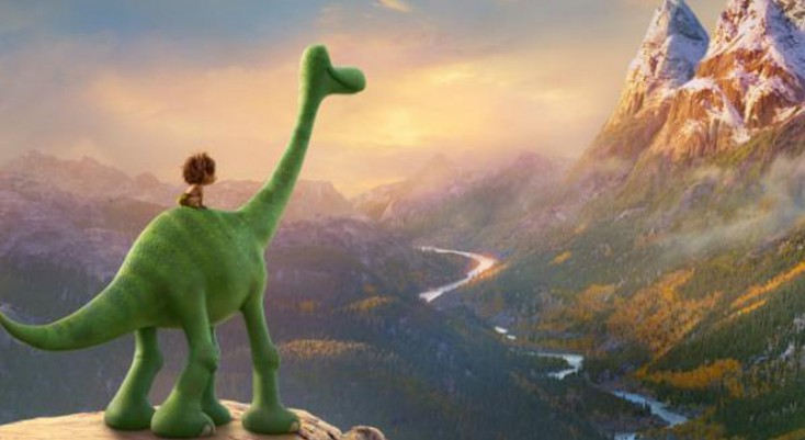 Sam Elliott and Anna Paquin Show Teeth in 'The Good Dinosaur'