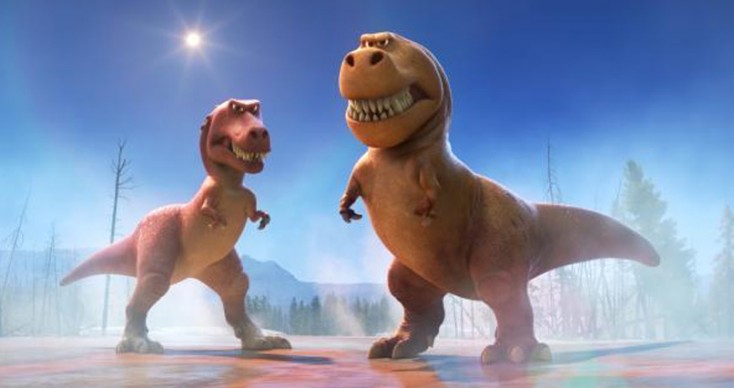 Photos: Sam Elliott and Anna Paquin Show Teeth in 'The Good Dinosaur'