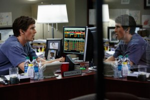 Christian Bale plays Michael Burry in THE BIG SHORT. ©Paramount Pictures.