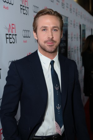 "Ryan Gosling attends the world premiere of Paramount Pictures' ""The Big Short"" at the Chinese Theatre, during the AFI Fest Closing Gala, on Thursday, November 12, 2015 in Los Angeles, CA. (Photo: Alex J. Berliner /ABImages)"