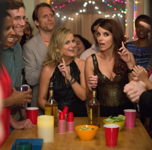 (L to R) AMY POEHLER and TINA FEY star in SISTERS. ©Universal Pictures. CR: K.C. Bailey.