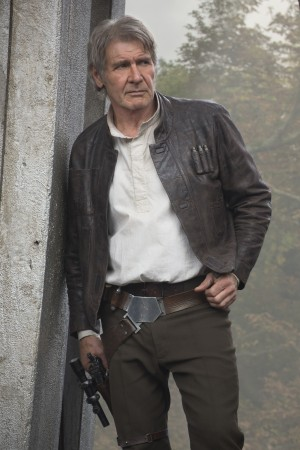Harrison Ford stars as Han Solo in STAR WARS: THE FORCE AWAKENS. ©Lucasfilm. CR: David James.