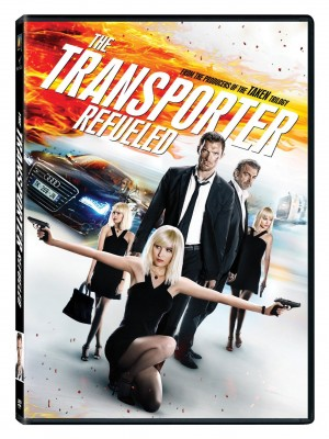 THE TRANSPORTER REFUELED. (DVD Artwork). ©20th Century Fox.