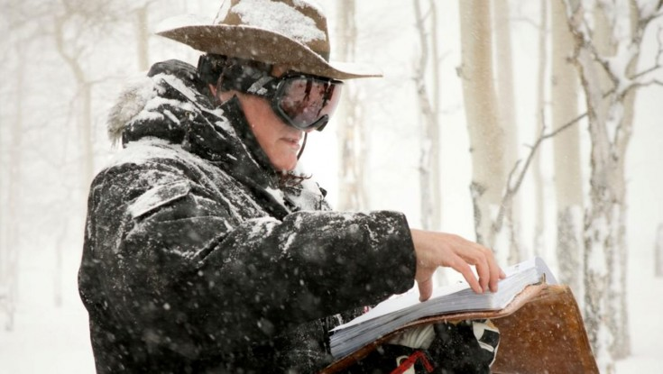 Photos: Quentin Tarantino Shoots 'Hateful Eight' Western Old School