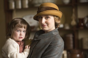 Laura Carmichael as Lady Edith Crawley in DOWNTON ABBEY. ©Carnival Film & Television Ltd. CR: Nick Briggs.