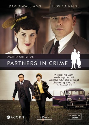 AGATHA CHRISTIE'S PARTNERS IN CRIME. (DVD Artwork). ©Acorn/BBC.