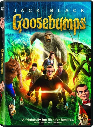 GOOSEBUMPS. (DVD Artwork)> ©Sony Pictures Home Entertainment.