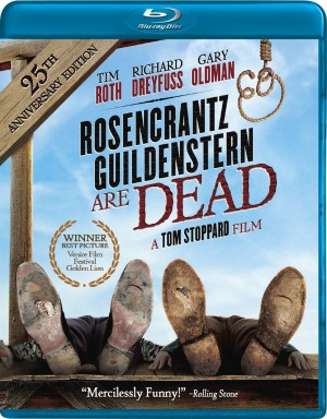 ROSENCRANTZ GUILDENSTERN ARE DEAD. (DVD Artwork). ©Image Entertainment.