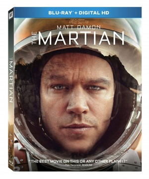 THE MARTIAN. (DVD Artwork). ©20th Century Fox.