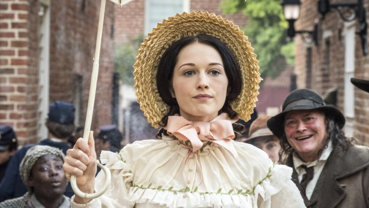 The Women of PBS drama 'Mercy Street' Talk on War, Accents