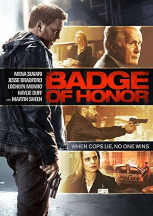 BADGE OF HONOR. (DVD Artwork). ©Industry Releasing.