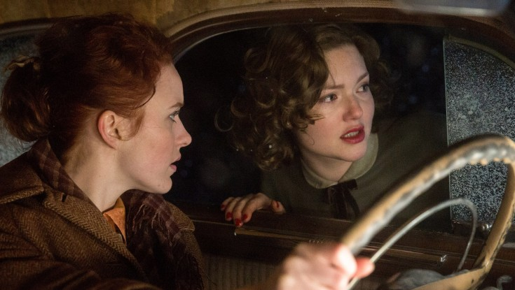 Photos: Holliday Grainger Shores Up Waiting Fiancee Role in 'Finest Hours'