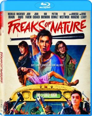 FREAKS OF NATURE. (DVD Artwork). ©Sony Pictures Home Entertainment.
