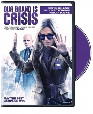 OUR BRAND IS CRISIS. (DVD Artwork). ©Warner Home Video.