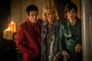 (l-r) Ben Stiller plays Derek Zoolander, Owen Wilson plays Hansel and Penelope Cruz plays Valentina Valencia in Zoolander No. 2. ©Paramount Pictures. CR: Philippe Antonello.