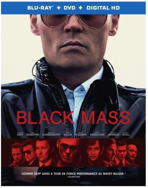 BLACK MASS. (DVD Artwork). ©Warner Home Video.
