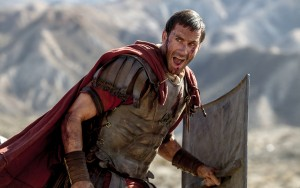 Clavius (Joseph Fiennes) leads his Roman soldiers during the zealot battle in Columbia Pictures' RISEN. ©CTMG. CR: Rosie Collins.