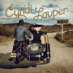 DETOUR. CYNDI LAUPER. (Cover Art). ©Sire Records.