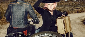 Photos: Lauper Travels Down Classic Country Road with 'Detour'