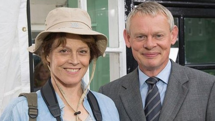 Sigourney Weaver Guest Stars on 'Doc Martin'