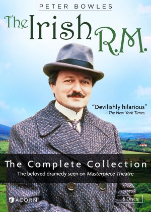 THE IRISH R.M. THE COMPLETE COLLECTION. (DVD Artwork). ©Acorn Media.