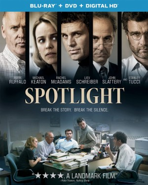 SPOTLIGHT. (DVD Artwork). ©Universal.