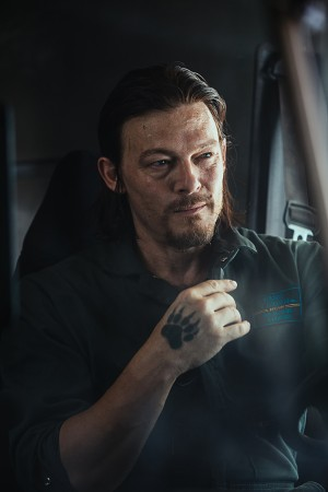 Norman Reedus stars in TRIPLE 9. ©Open Road Films. CR: Bob Mahoney.
