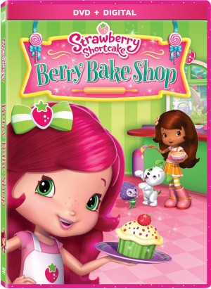 STRAWBERRY SHORTCAKE: BERRY BAKE SHOP. (DVD Artwork). ©20th Century Fox.