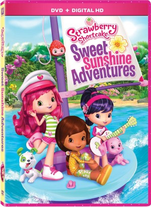 STRAWBERRY SHORTCAKE: SWEET SUNSHINE ADVENTURES. (DVD Artwork). ©20th Century Fox.