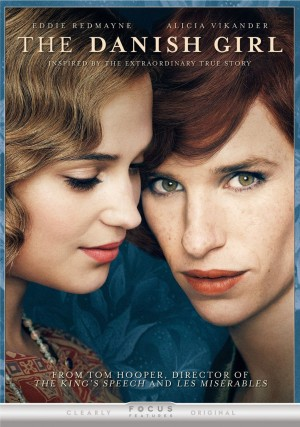 THE DANISH GIRL. (DVD Artwork). ©Focus Features.