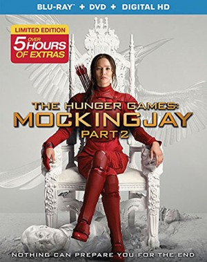 THE HUNGER GAMES: MOCKINGJAY PART 2. (DVD Artwork). ©Lionsgate.
