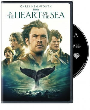 IN THE HEART OF THE SEA. (DVD Artwork). ©Warner Brothers.