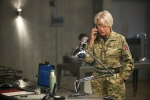 Helen Mirren stars as Colonel Katherine Powell in the dramatic thriller, EYE IN THE SKY. ©Bleecker Sreet. CR: Keith Bernstein / Bleecker Street