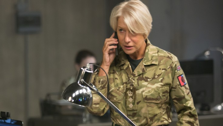 Dame Helen Mirren Dons Fatigues in War Drama 'Eye in the Sky'