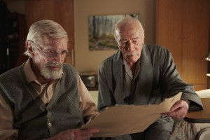 (l-r) Martin Landau and Christopher Plummer stars in REMEMBER. ©A24 Films.