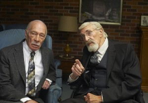 (l-r) Christopher Plummer and Martin Landau star in REMEMBER. ©A24 Films.