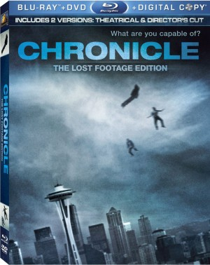 CHRONICLE. (DVD Artwork). ©20th Century Fox.