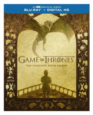 GAME OF THRONES: THE COMPLETE FIFTH SEASON. (DVD Artwork). ©HBO Studios.