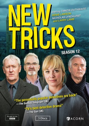 NEW TRICKS: SEASON 12. (DVD Artwork). ©Acorn Media.