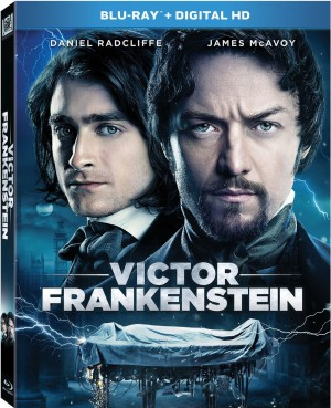 VICTOR FRANKENSTEIN. (DVD Artwork). ©20th Century Fox.