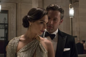 (l-r) Gal Gadot as Diana Prince/Wonder Woman and Ben Afflek as Bruce Wayne/Batman in BATMAN V SUPERMAN: DAWN OF JUSTICE. ©Warner Bros. Entertainment. CR: Clay Enos.