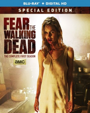 FEAR THE WALKING DEAD: THE COMPLETE FIRST SEASON (Special Edition) (DVD Artwork). ©AMC.