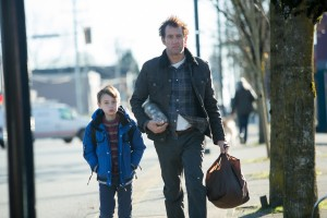(l-r) Jaeden Lieberher and Clive Owen star in THE CONFIRMATION. ©Lionsgate Entertainment.