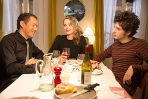 (l-r) Dany Boon, Julie Delpy  and Vincent Lacoste star in LOLO. ©Film Rise.