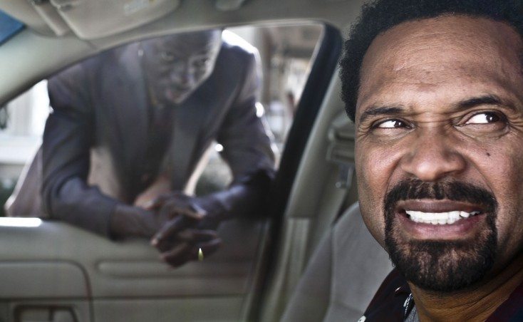Mike Epps Gets Behind the Wheel of 'Blacks'